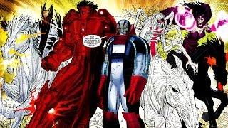 X Men Apocalypse Four Horsemen Revealed