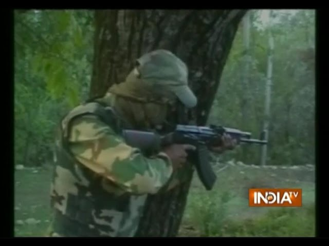 Encounter between militants, security forces in Pulwama