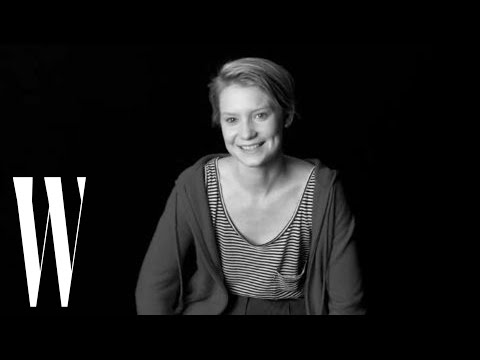 Mia Wasikowska W Magazine Screen Test - Mia Wasikowska - Flixster Video