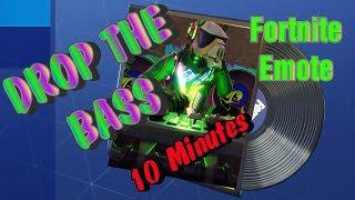 "Fortnite ""DROP THE BASS"" Emote [10 min version]"