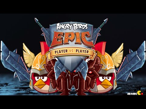 Angry Birds Epic - New Bird Arena Player Vs Player video