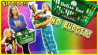 NO BUDGET DOLLAR STORE CHALLENGE!! / SmellyBellyTV