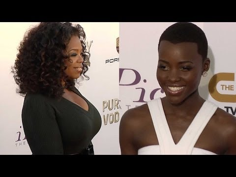 Oprah And Lupita Nyong'o On Critics Choice Red Carpet video