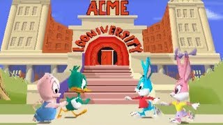 Tiny Toon Adventures: Plucky's Big Adventure (PS1) Playthrough - NintendoComplete