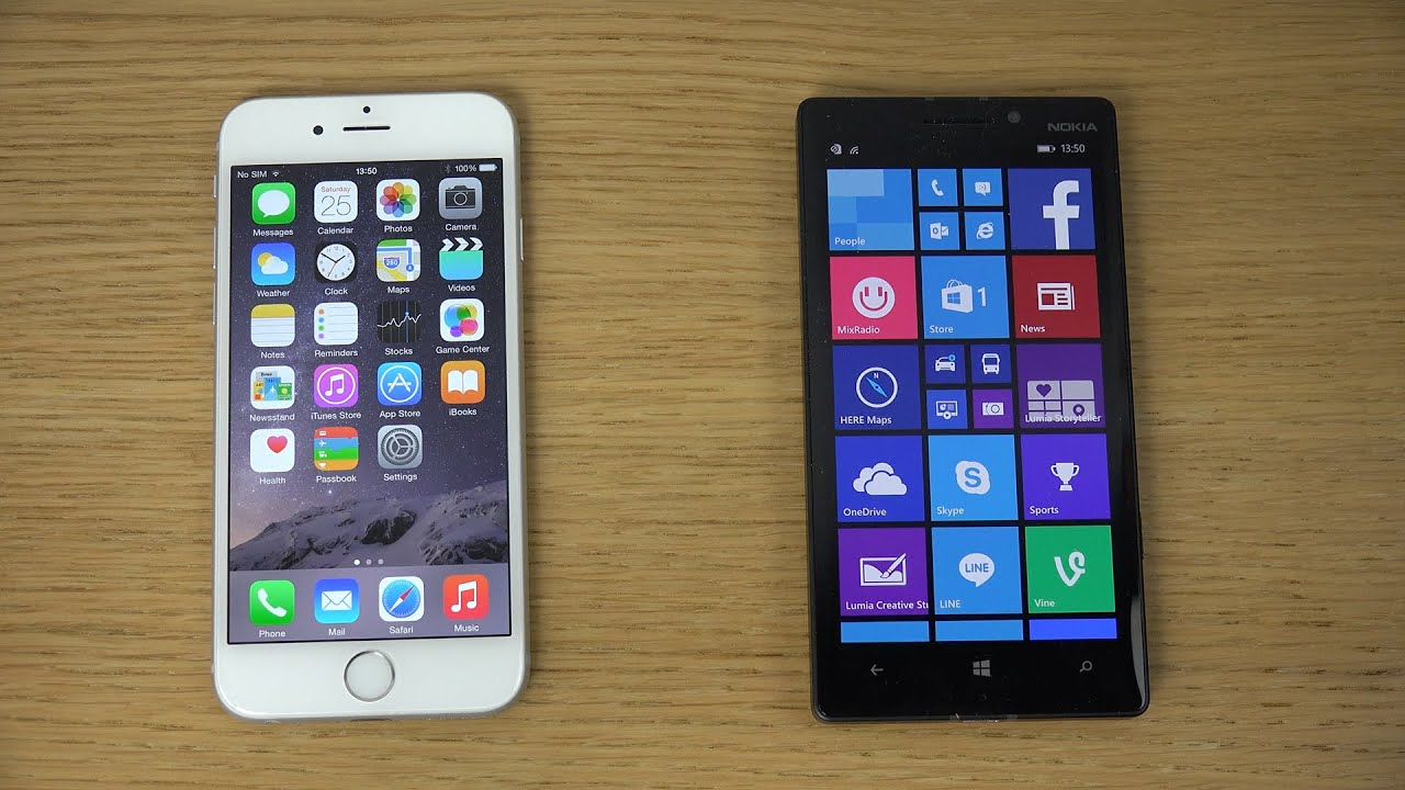 Lumia 930 vs iphone 6
