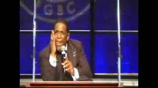 """Bishop Rudolph Mckissick Jr """"The Right Touch"""" C A G  Men's Day 2013 With Bishop Paul Morton"""