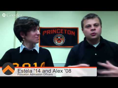 Princeton Undergraduate Admission Google+ Hangout On Air