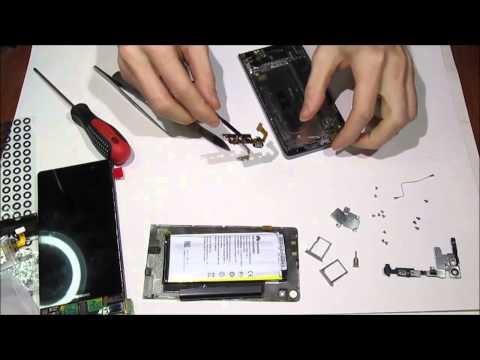 Huawei Parts как разобрать Huawei P6 / Cambiar pantalla lcd  / LCD repair / Phẫu thuật