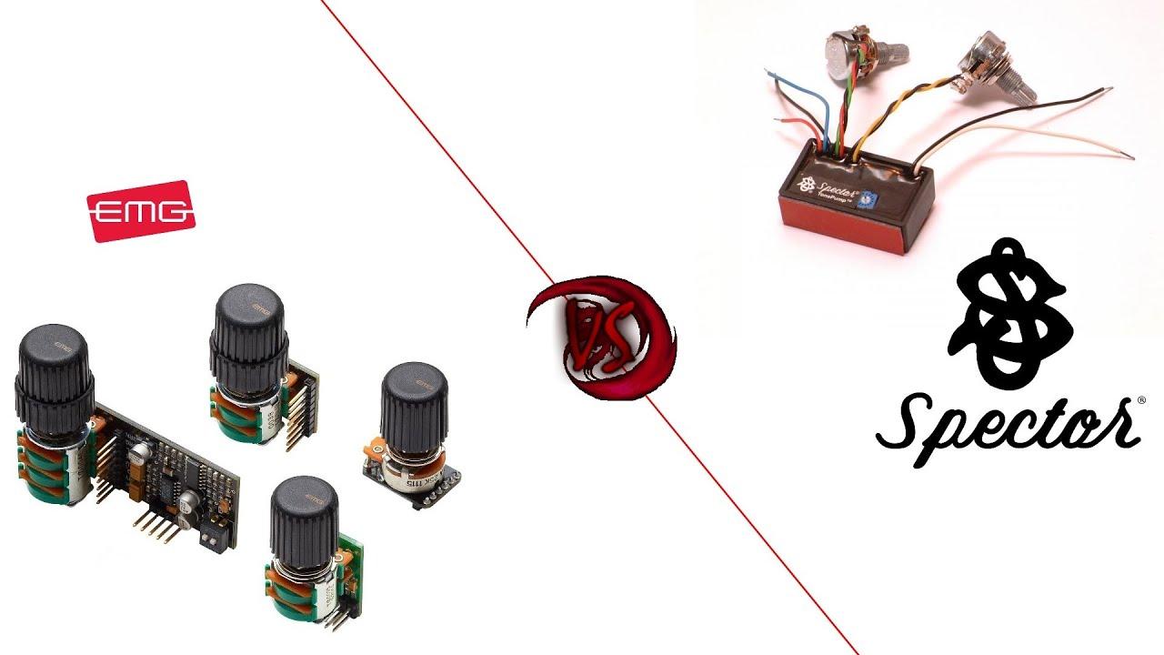 Spector Bass Input Jack Wiring Circuit Connection Diagram Fender Preamp S Comparison Test Emg Bqc Vs Electric Guitar