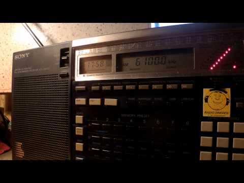 21 07 2015 Interval signal of International Radio Serbia 1757 on 6100 Bijeljina