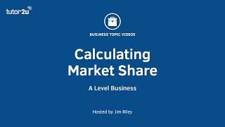 Marketing: Calculating Market Share