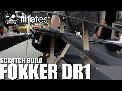 Flite Test - Fokker DR1 - REVIEW