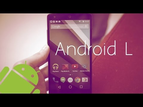 Preview NUEVA Version de Android (Android L) + Root