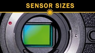 Influence of sensor size on depth-of-field
