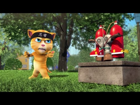Talking Tom and Friends - Jetpack Ninja (Season 1 Episode 33)