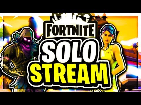 (Fortnite Battle Royale) Solo Stream! Giveaway At 100 Subs! Raven Skin Out NOW thumbnail