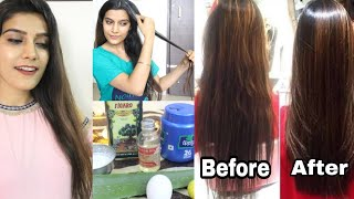 Permanent Hair Smoothening At Home |Only Natural Ingredients | Super Style Tips