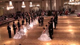 Stanford Viennese Ball 2013 - Opening Procession and Honored Guests