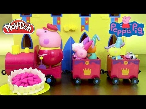 New Peppa Pig Full Episode Play Doh Special Episode George pig Grandad Dog