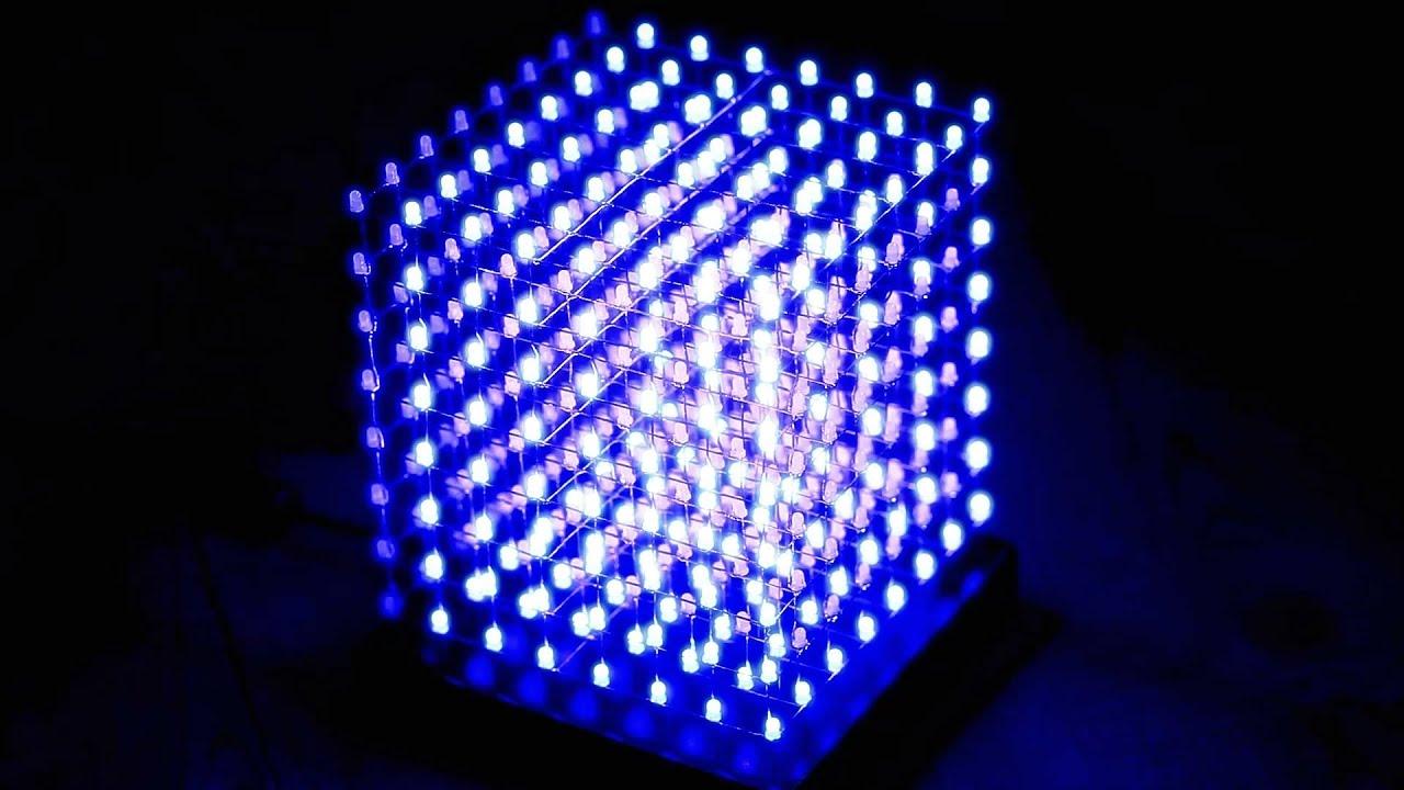 3d led cube своими руками