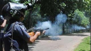 Bangladesh RAB & POLICE going action for violence in Bangladesh