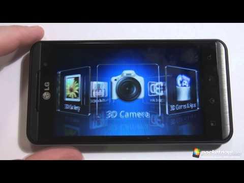 LG Optimus 3D Software Tour