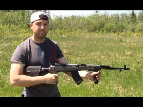 Modified SKS with ATI Stock | Tapco Magazine | UTG Forend