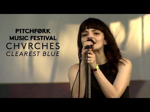 "Chvrches perform ""Clearest Blue"" - Pitchfork Music Festival 2015"