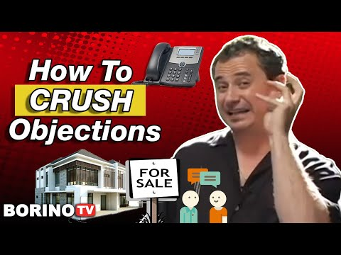 Expired Listings - How to Crush Objections - Borino's Expired PLUS System
