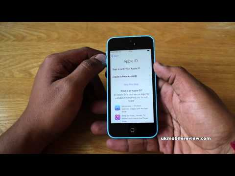 Apple iPhone 5C - Initial Set Up Guide Walkthrough
