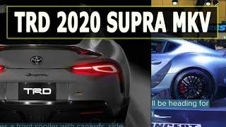 TRD 2020 Toyota Supra GR Performance Line Bodykit MkV