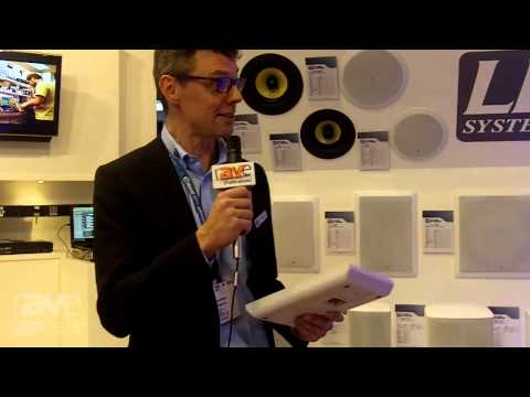 ISE 2015: Adam Hall Describes the LD Systems Contractor Series LD CWMSS 5 W/B Speaker
