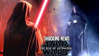 The Rise Of Skywalker Villain Shocking News Revealed! (Star Wars Episode 9)