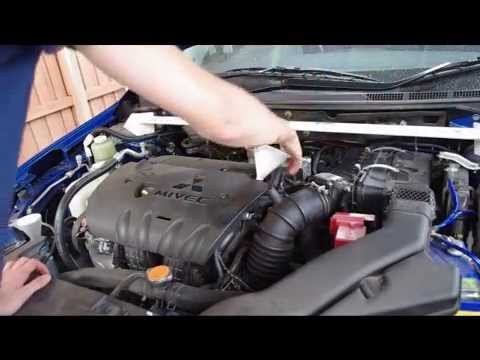 08+ Lancer - How to Change Oil & Filter