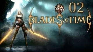 Let's Play Blades of Time #002 - Nur ein kleiner Blechschaden [deutsch] [720p]
