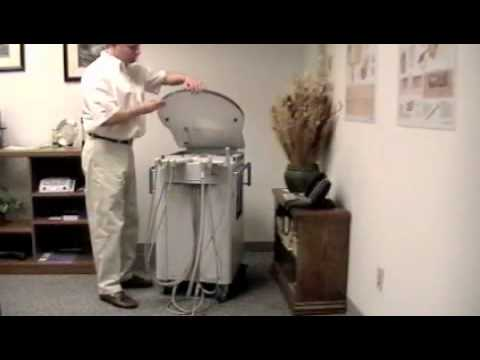 Aseptico AMC-20 Mobile Dental Cart and Delivery System