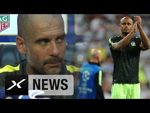 Pep Guardiola: Vincent Kompany behutsam aufbauen | Manchester City