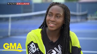 Tennis phenom Coco Gauff said she hopes to be 'the greatest of all time' l GMA