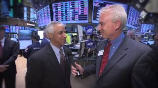 ADT Corporation Rings the NYSE Opening Bell --   ADT IPO Stock Debut