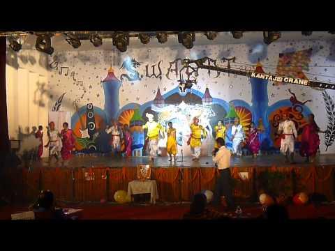 swagat 2k13 marathi dance
