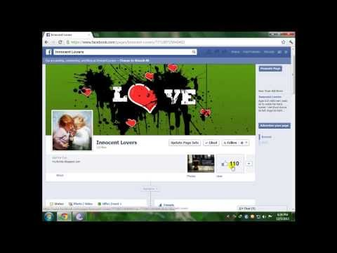 Get Fb Fan Page Likes For Free  Urdu Tutorial video