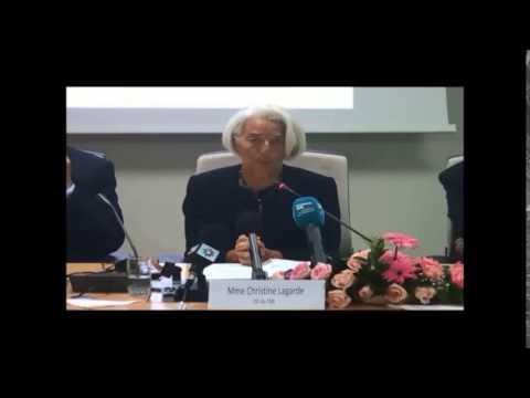 Rencontre avec la DG du FMI, Mme Christine Lagarde