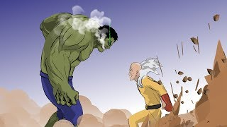 Hulk vs Saitama (Part 2) - Taming The Beast