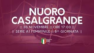 Serie A1F [8^]: Nuoro - Casalgrande 30-35
