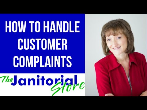 #31 -- How to Handle Customer Complaints in Your Cleaning Business
