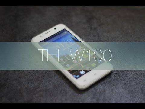 Review Android chino: THL W100