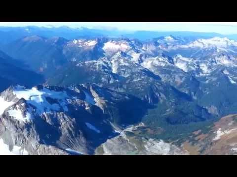 USGS South Cascade Glacier cirque over-flight