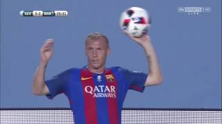 Spanish SuperCup 2016 1st Leg: Sevilla vs Barcelona Full Match