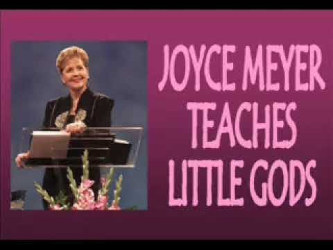 Joyce Meyer- Little Gods