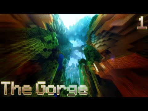 "Minecraft: Dhenzel's First map - ""The Gorge""!"